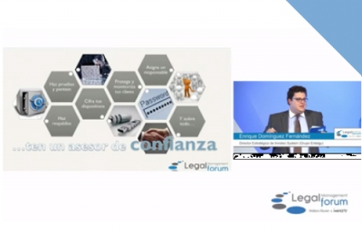 ¿Cómo proteger la información? Entelgy en Legal Management Forum