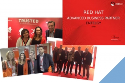 Entelgy participa en los eventos de Red Hat 2016