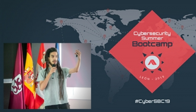 """One step ahead the enemy"": ponencia de Gonzalo León, compañero de hacking, en el Cybersecurity Summer BootCamp 2019 que organiza INCIBE"